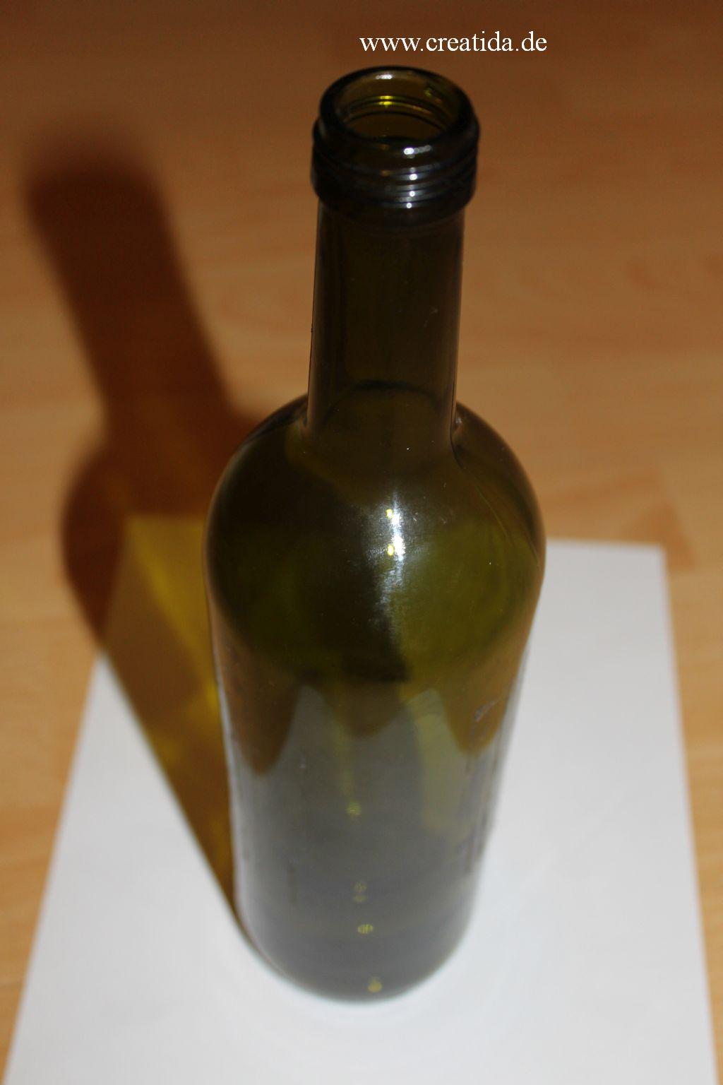 Vase Aus Flasche Basteln Creatidade Alles Rund Um Diy