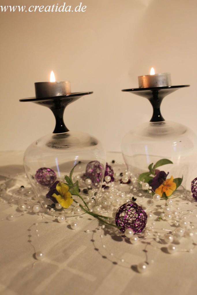 Kerzenhalter Gläser26