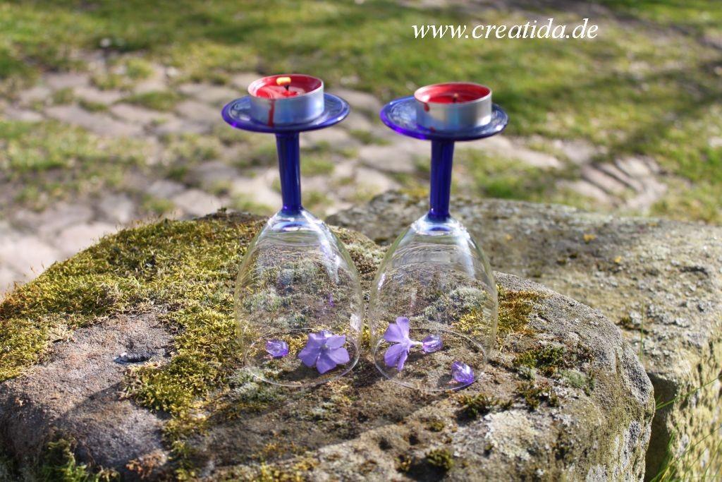 Kerzenhalter Gläser30