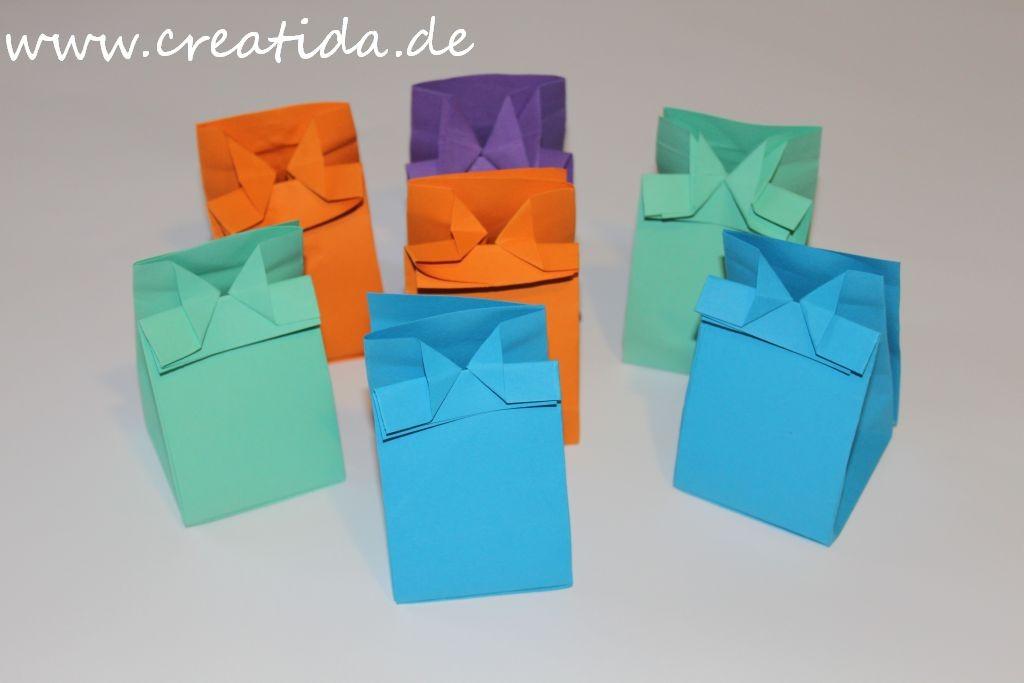 Brief Falten Ohne Kleben : Papiertüten basteln ohne kleben my