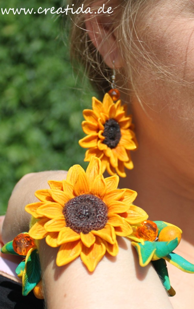 sonnenblumen ohrringen