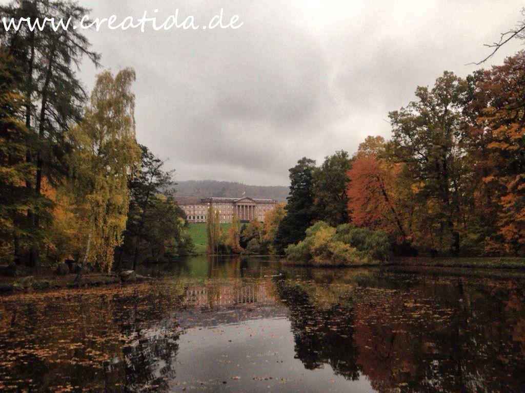 schloß im park Wilchelmshöhe