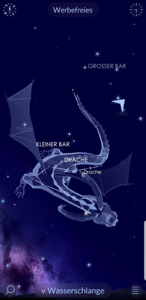 Звёздное небо во время Корона Вируса